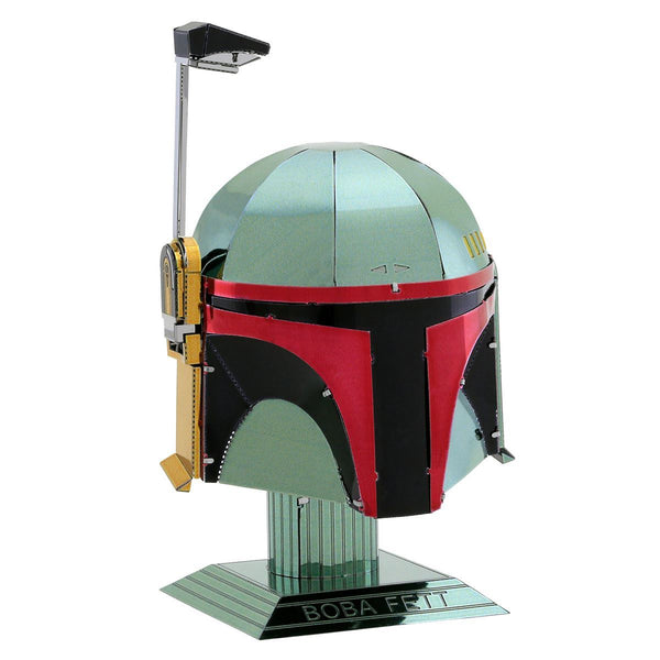 Boba Fett helmet metal earth