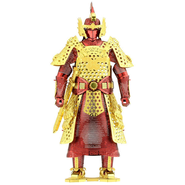 metal earth chinese ming armor