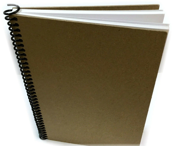 DIY Kraft Book Scrapbook Photo Album Journal Diary 60pgs Vintage Wedding Family