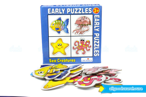 Creative's Early Puzzles - Sea Creatures