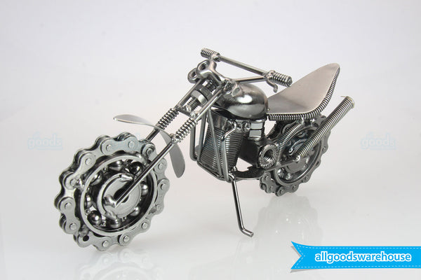 metal art handmade dirt bike