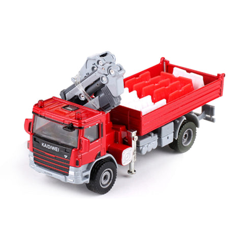 Atego with crane - red