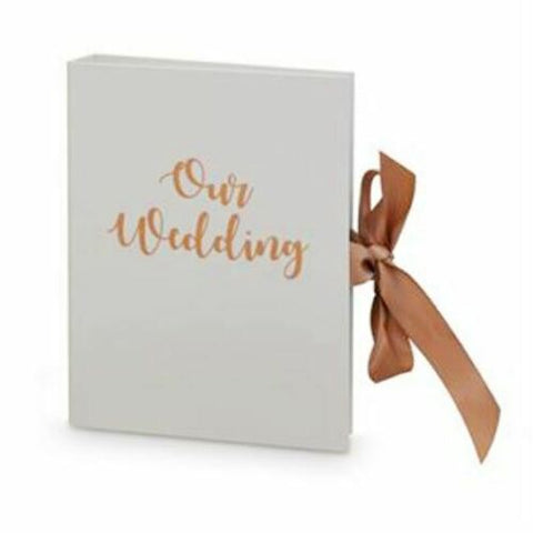 OUR WEDDING Planner / Organiser Journal Diary Book Engagement Gift 2 Ring Binder