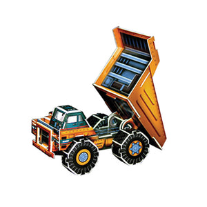 Dump truck pop out world