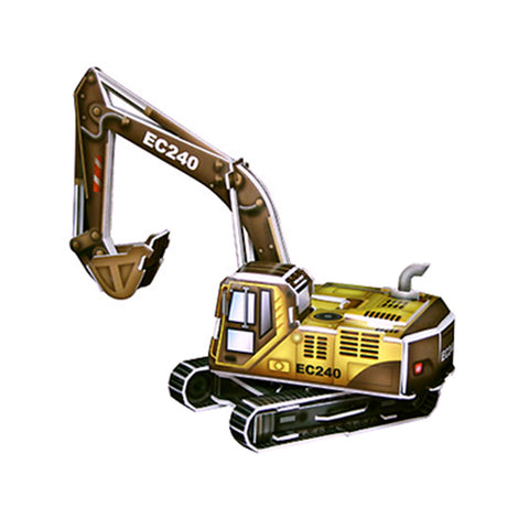 excavator pop out world - 27 piece