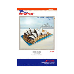 Sydney Opera House DIY Model Kit