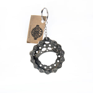 Handmade Circular Bottle Opener & Key Chain