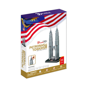 Petronas Towers Model Kit