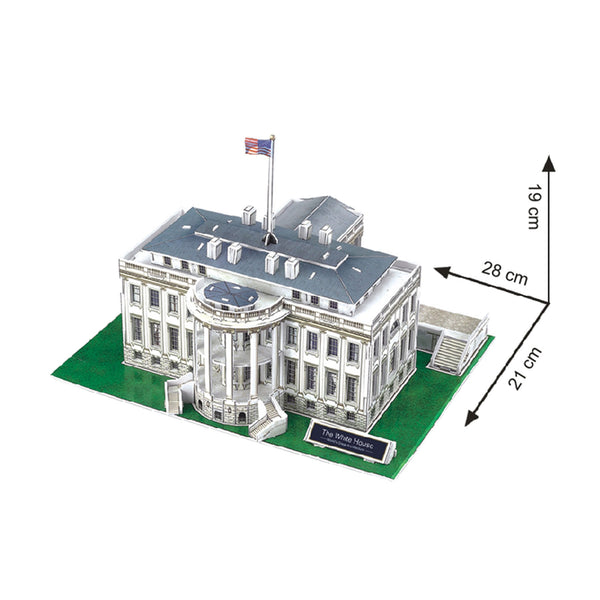 white house model kit