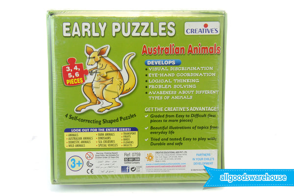 Creative's Early Puzzles - Australian Animals