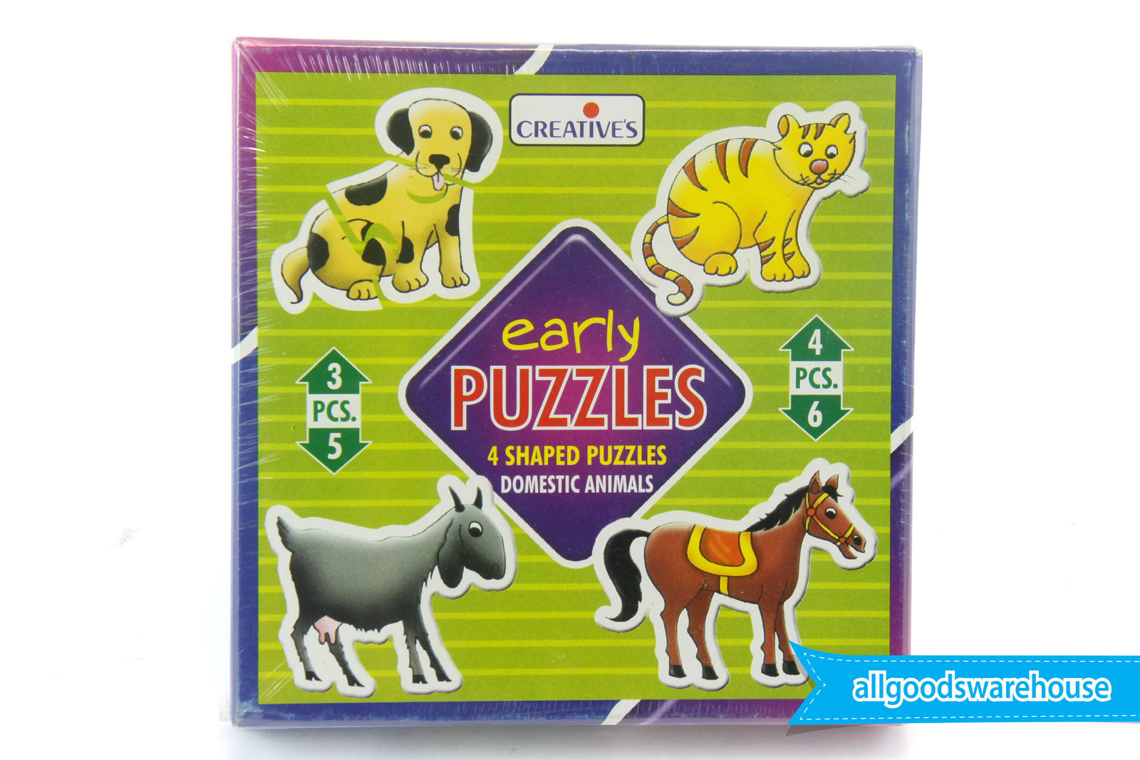 Creative's Early Puzzles - Domestic Animals