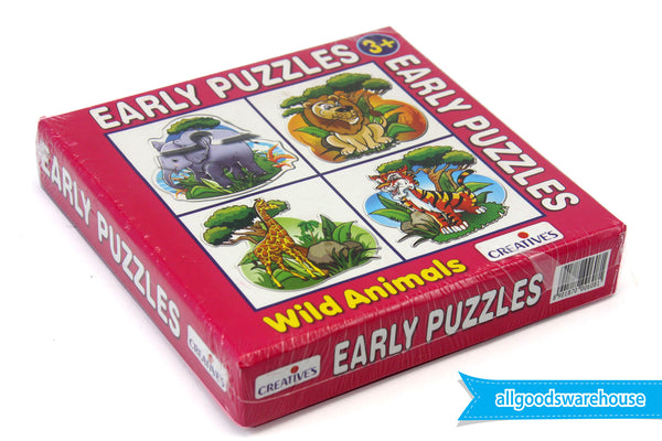 Creative's Early Puzzles - Wild Animals