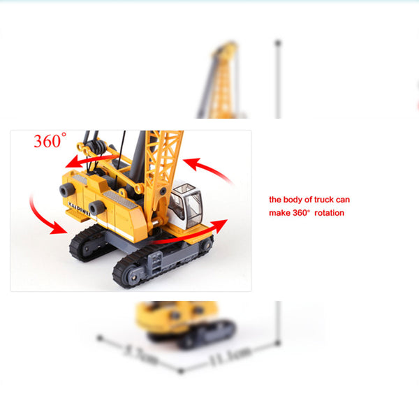 hydraulic cable lifting excavator