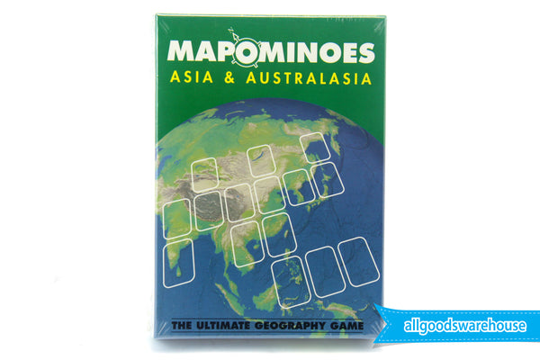 Mapominoes - Asia & Australasia Card Game