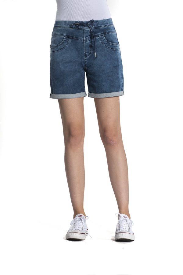 Anna - Short - Blau Denim