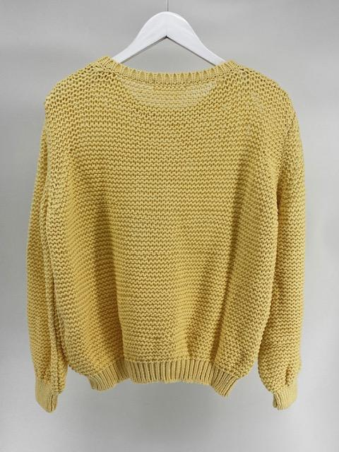 Off Shoulder sweater - Mellow Yellow