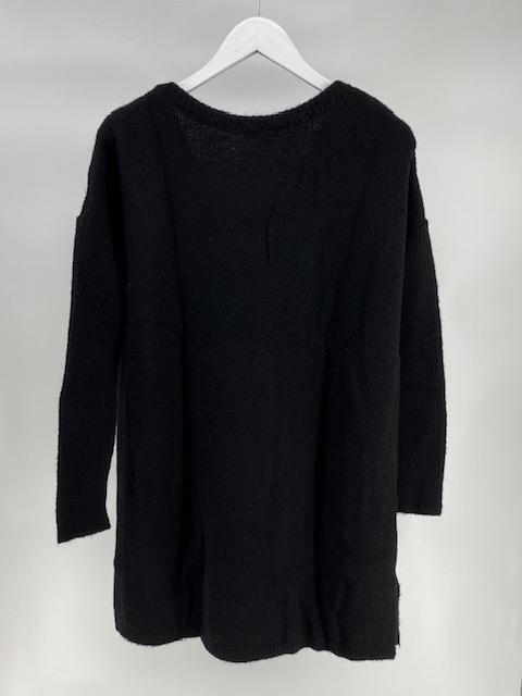 Tuniek sweater- Black