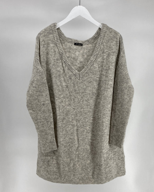 Tuniek sweater- Champagne