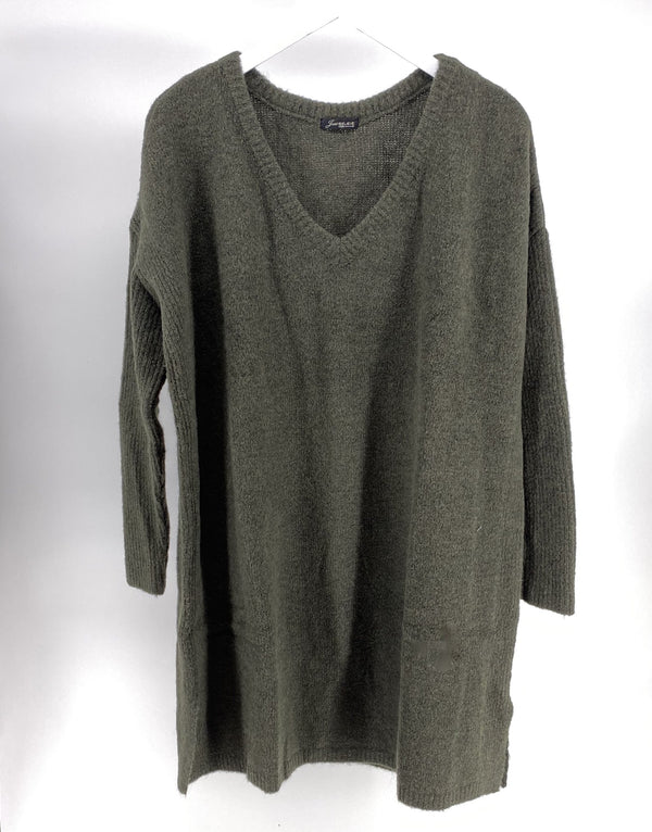 Tuniek sweater- Army Green