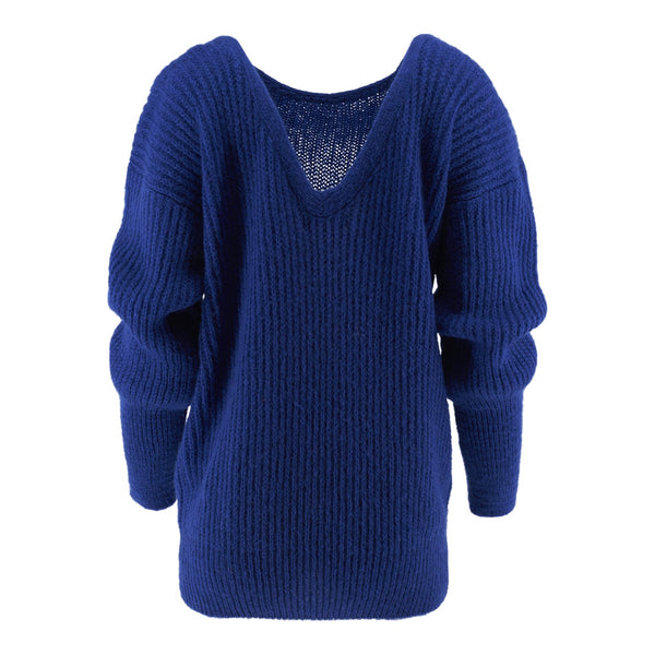 Alix - Sweater - Strong Blue