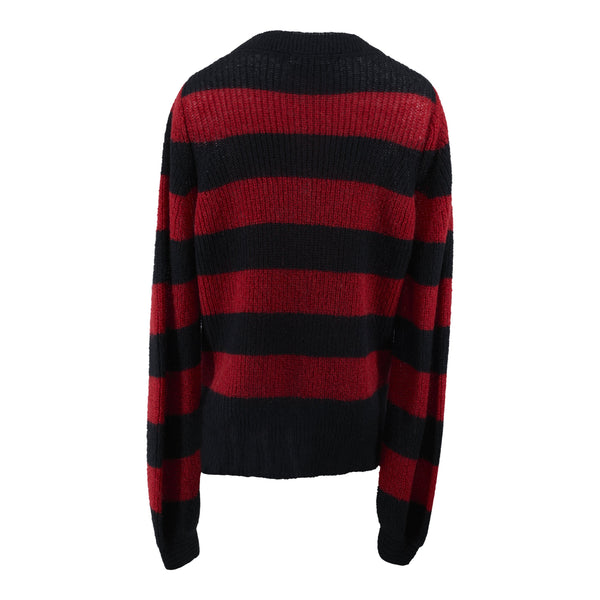 Diva - Sweater - Fire Red & Black