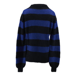Diva - Sweater - Strong Blue & Black
