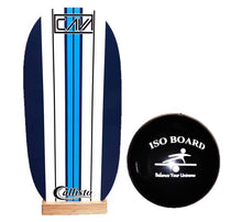 "Load image into Gallery viewer, Callisto Balance Board - ""Classic"" Novice with wobble cushion"