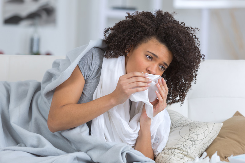 College students, frequent travelers, healthcare providers, & teachers are more susceptible to colds.