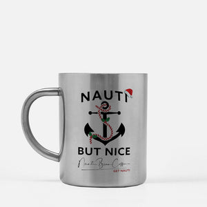 "Xmas ""Nauti But Nice"" Stainless Steel"