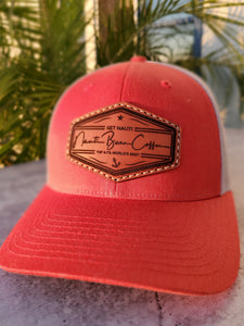 Hats - Laser Engraved Leather Patch