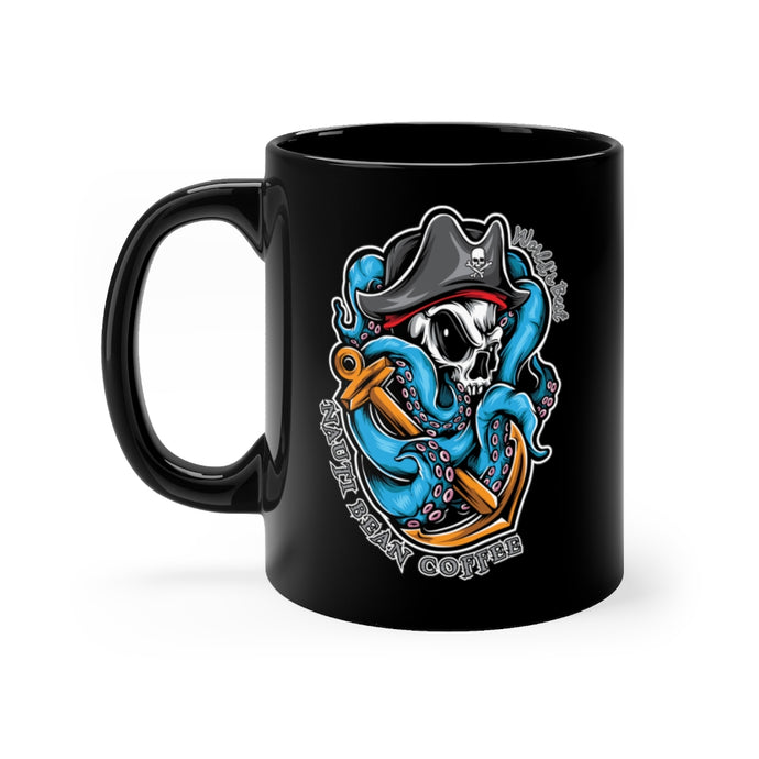 Pirate Logo - Black mug 11oz