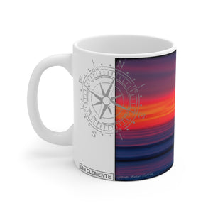 """SanO Sunset"" - Mug 11oz"
