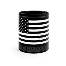"Load image into Gallery viewer, ""Wake Up America"" - Black mug 11oz"