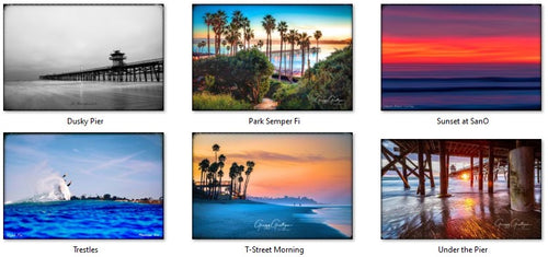 San Clemente, CA - 6 Mug Collectors Series