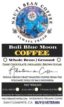 Load image into Gallery viewer, Bali Blue Moon (Organically Farmed)