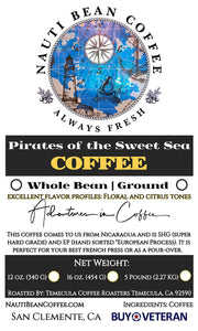 Pirates of the Sweet Sea (Nicaragua Roast)