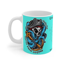 "Load image into Gallery viewer, ""Uprising Roast"" - ""Wake Up America"" - Mug 11oz - Teal"