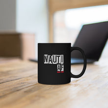 Load image into Gallery viewer, Nauti AF - Black mug 11oz (Cherry)