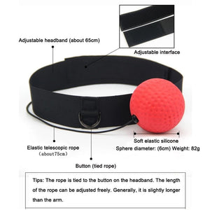 Fight Speed Training Punch Ball - Health & Beauty