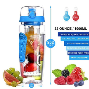 Fruit infuser water bottle - Sports & Outdoors