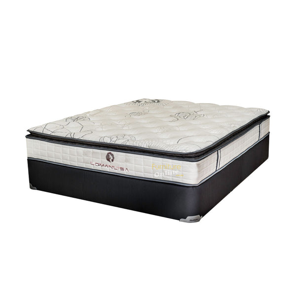 Lomanlisa Pocket Pillowtop Mattress With Base