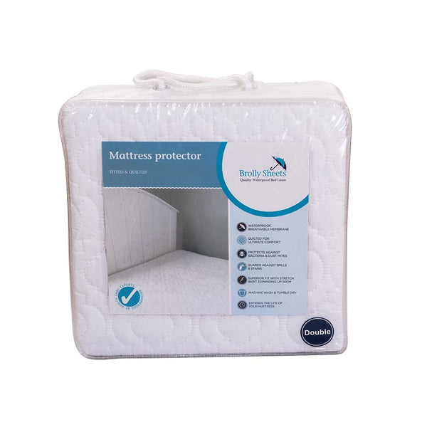 Brolly Quilted Mattress Protector | Waterproof Mattress Protector