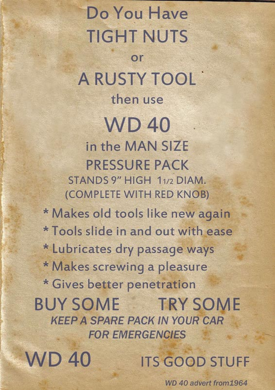 WD-40 Lube Like No Other