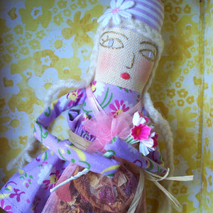 Handmade Doll: Flower Girl Aster