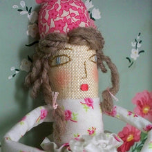 Handmade Doll: Flower Girl Rosebud
