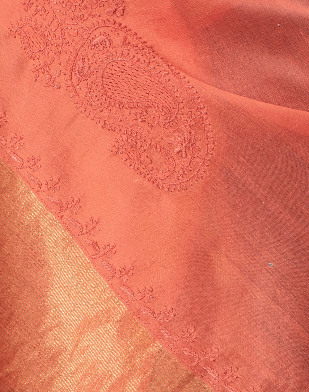 Cotton Silk Mukaish Work Dupatta