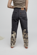 Load image into Gallery viewer, MELISA MINCA X MAISON MATZ REWORKED DENIM / WAIST 33 / LENGTH 30