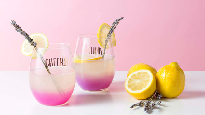 lemonade, recipe, lavender, cheers, summer