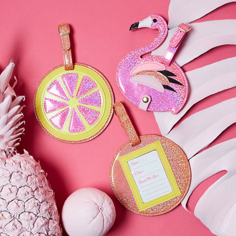 posh and pop accessories collection bright and tropical