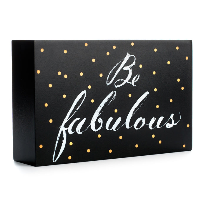 be fabulous hollow desk block posh and pop